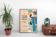 Vintage Market Posters on Behance