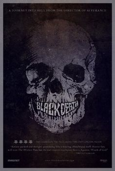 Black Death Poster - Internet Movie Poster Awards Gallery #movie #design #poster
