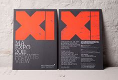 NTU MA Expo 2011 : Andrew Townsend #design #graphic