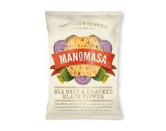 Manomasa The Dieline #packaging #chips #manomasa