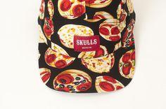 skulls 5 panels #pattern