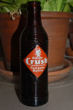 All sizes | Organge Crush | Flickr - Photo Sharing! #vintage #label #typography