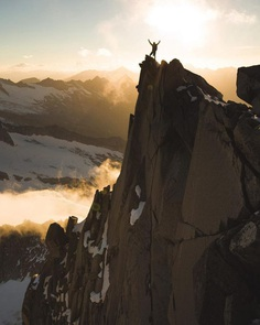 Outstanding Mountainscape and Climbing Photography by Tom Klocker