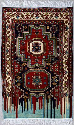Faig Ahmed | PICDIT #design #carpet #art #installation