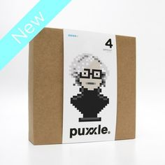 puxxle — Andy #andy #puxxle #puzzle #warhol #pixel #art #game #8bit