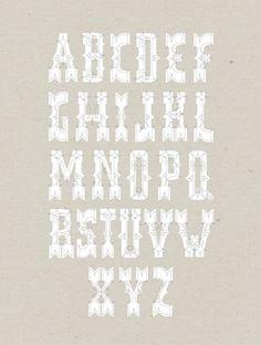 Missy Austin #typeface #typography