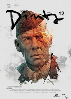 Dirty Dozen on the Behance Network #illustration #poster