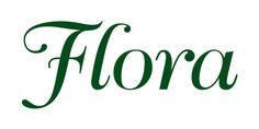 Flora Margarine on Behance #flora #typographic #voigt #logo #moses