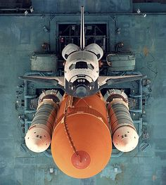Space Shuttle Photograph