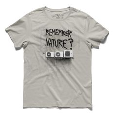 #remember nature #concrete #tee #tshirt #nature #begley #airconditioning... #climate #globalwarming #streetart #graffiti