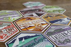 9 unique letterpresses South Africa coasters #africa #design #letterpress #coasters #south