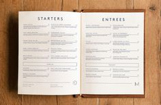 Branding, Typography, Logo, Madrina, Menu, Layout, Collateral, Identity