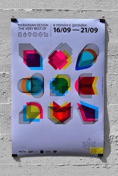 Ukrainian design the very best of 2013 on Behance #style #poster