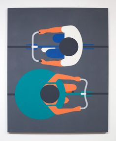 Artist designer Geoff McFetridge #illustration #top #down