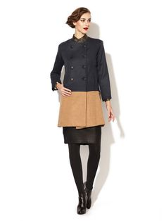 Wren Wool Combo Coat