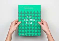 The Fruitful Field / Bench.li #print #design #graphic #book