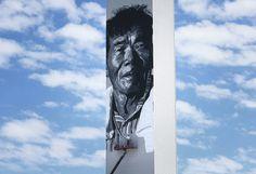asia's tallest mural by hendrik beikirch #mural #korea #south #koreal #tallest #art #street