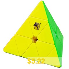 Black #Kirin #Pyramid #Professional #Competition #Shaped #Third-Order #Conical #Cube #- #MULTI-A
