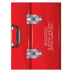 City of Midland Toolbox Presentation Folder #red #folders #presentation #toolbox #folder