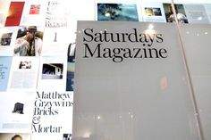 Image #surf #layout #saturdays #magazine