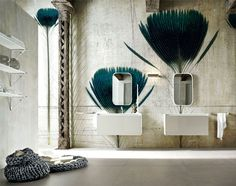 Decorative Wallpaper by Inkiostro Bianco - #wallcoverings, #walls, #walldecor