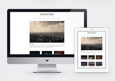 Deliciously Simple : Minimalist WordPress Theme