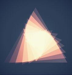 All sizes | Untitled | Flickr - Photo Sharing! #geometry #triangle #layering #gradient #opacity