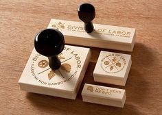 Mikey Burton / Graphic Design, Illustration and Letterpress #stamps #design #graphic #rubber