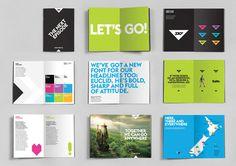 SKY TV NZ #typography #branding #identity #simple #brand #triangle #colour #bold