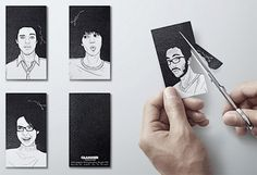 Design Illustration Typography Printmaking / Cool and Unusual Business Cards #business #print #design #graphic #cards