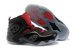 Nike Zoom Rookie Lwp Penny Basketball Shoes Black/Red #shoes