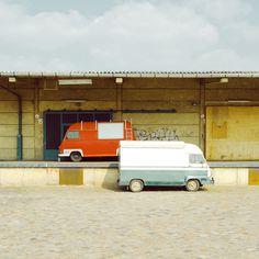 • Studie Eins : #industrial #retro #van #cars