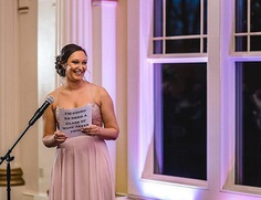 maid of honor speech examples guest wedding toast
