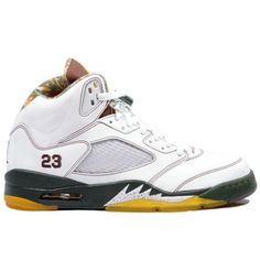 Nike Air Jordan 5 V Retro-White Design #nike air jordan 5 v retro-white
