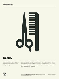 The Human Project Poster (Beauty) #inspiration #creative #information #collection #design #graphic #poster #typography