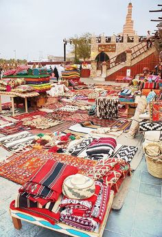 oriental market #oriental #carpets #patterns #market