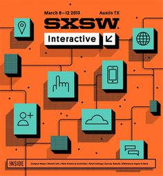 SXSW2013b_ProgramCover_Interactive_750 #illustration
