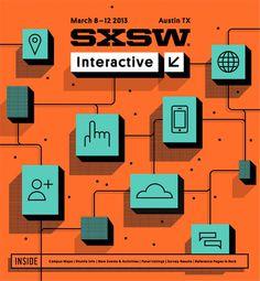 SXSW2013b_ProgramCover_Interactive_750 #illustration