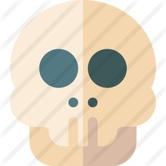 See more icon inspiration related to skull, antropology, healthcare and medical, anatomy, health clinic, skeleton, head and bones on Flaticon.