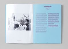 Wiels – Annual Report | Alexander Lis