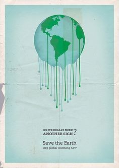 Google Reader (1000+) #poster #global warming
