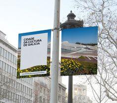 Cidade da Cultura (Identity) by Lo Siento Studio, Barcelona