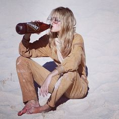 Likes | Tumblr #beach #costume #drinking #girl