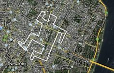 Google & Bing Map Marking | Mainual #mark #creativity #street #google #maps #crime