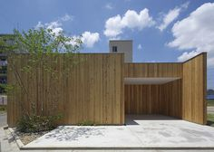 House in Nishimikuni is a minimalist house located in Osaka, Japan, designed by Arbol Design. The defining characteristic of this home is th