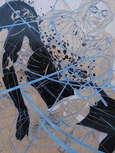 Jason Thielke #human #lines #art