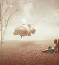 Photo Manipulations by Amandine Van Ray #inspiration #photography #manipulations