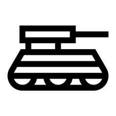 See more icon inspiration related to tank, war, military parade, cultures, transportation and military on Flaticon.