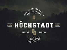Höchstadt Typeface
