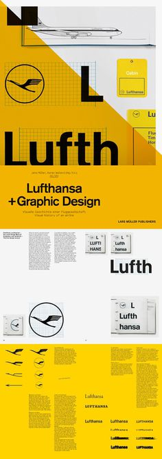 lufthansa graphic design